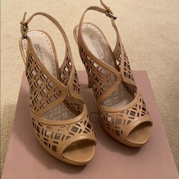 Nude Stiletto Sandal